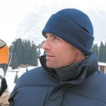 Active fleece ski bob hat