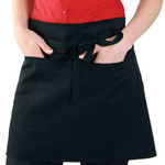 Economy Short Bar Apron With Pocket