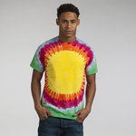Rainbow sunburst T