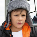 Result Winter Kids Ocean Trapper Hat