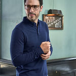 Tee Jays Mens Fashion L/S Stretch Polo
