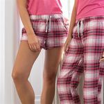Gals flannel shorts