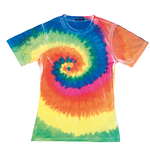 Women's sublimated rainbow T