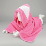 PRINT-Me® baby hooded towel