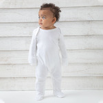 Baby organic envelope sleepsuit with mitts