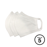 Anti-microbial washable face mask (Pack of 5)