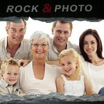 Photo Rock Slate ( Choose Size )