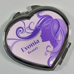 Heart Shape Mirror ( With box )