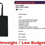 Cotton Tote Shopper BEST DEAL!