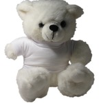 Soft Toy - White Bear