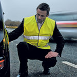 Safeguard motorist safety vest EN471