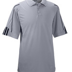 Men's ClimaLite 3-Stripes Cuff Pique Performance Polo