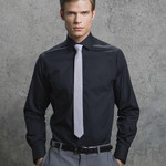 Men's Tailored Fit Long Sleeved Business Shirt
