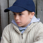 Childrens Low Profile Heavy Brushed Cotton Cap