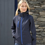 Women's Core TX performance hooded softshell jacket