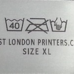 CLOTHING LABEL - unpick and insert