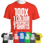 BULK DEAL - FULL CUT TEE ( 1 colour print )