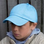 Junior low-profile cotton cap
