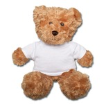 Teddy Bear Plain 25cm  With T shirt