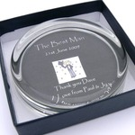 Personalised Paper weight 90MM