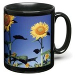 Black Panel Sublimation Mug