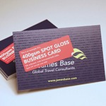 450 gsm SOFT TOUCH BUSINESS CARD