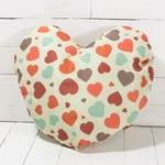 Heart Shaped Sublimation Cushion Cover ( with cushion )