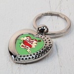 Heart Shaped Key Ring ( Photo only )